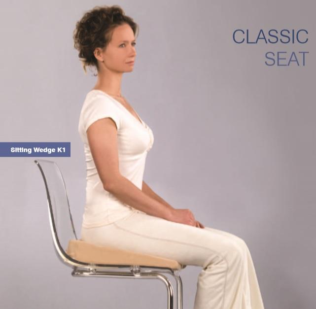 Poduszka na krzesło? Czyli co położyć na krzesło, aby zdrowo i wygodnie siedzieć.