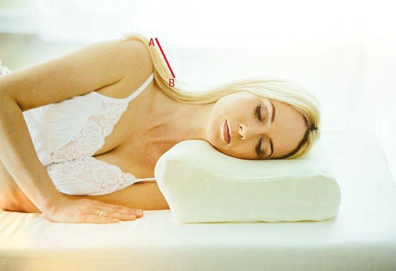 Poduszka ortopedyczna - jak zmierzyć bark?